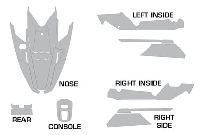 Yamaha Wave Runner 3 Jet Ski Graphic Wrap Kit (1991-1996)