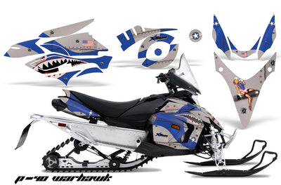 P40 Warhawk - BLUE design
