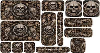 Bronze Design Color Universal Sticker Sets - ATV Graphics
