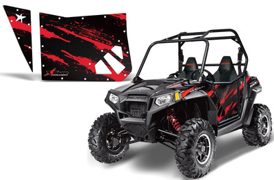 Carbon Fiber Red on a RZR800