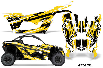Attack - Yellow Design Color