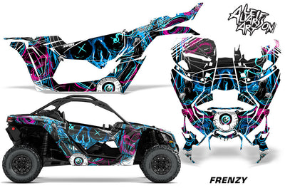 Frenzy - Blue Design Color