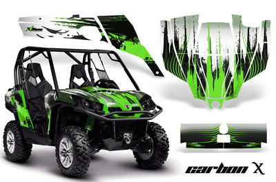 Carbon X - BRIGHT GREEN design
