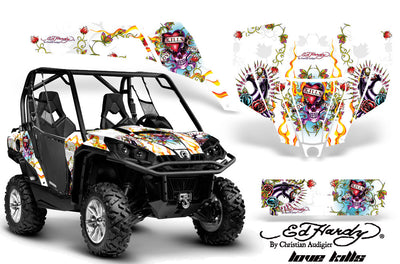 Ed Hardy Love Kills - White Background