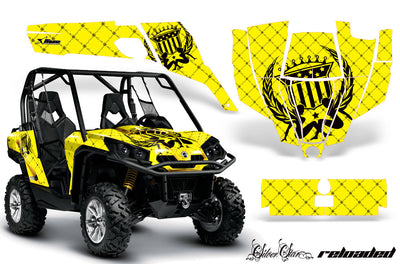 Reloaded - Yellow Background, Black Design