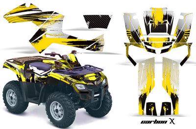 Carbon X - Yellow Design