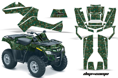 Digi Camo - Army Green Design