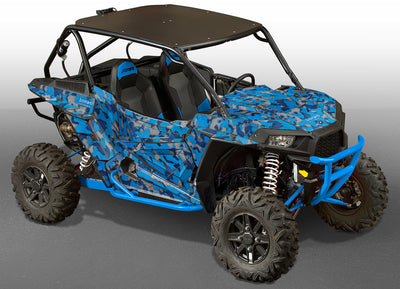 Camo - Voodoo Blue Design