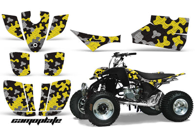 Camo Plate - Yellow Design