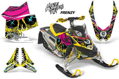 Frenzy - Yellow Design