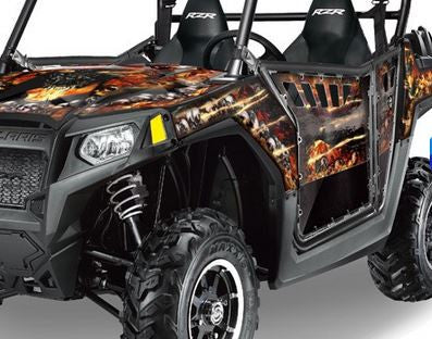 Firestorm in Black - on a RZR800 2011