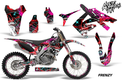 Frenzy - 450R '09-'12 in Red Design