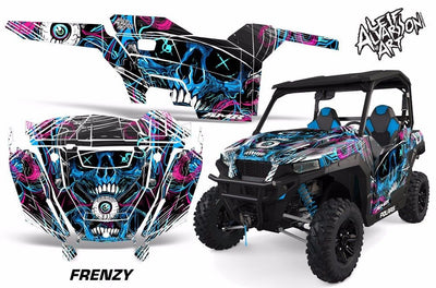 Frenzy - Blue Design