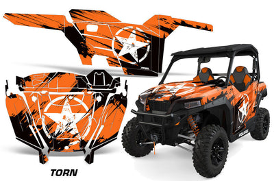 Torn - Orange Design