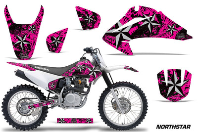 North Star Pink Background Silver Design '03-'07