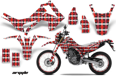 Argyle - Red Design