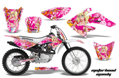 Motorhead Mandy - Pink Background Pink Design