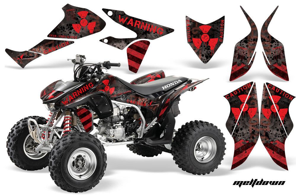 2004-2007 Ride the Lightning by Invision Artworks Details about  /Honda TRX 450R Graphics