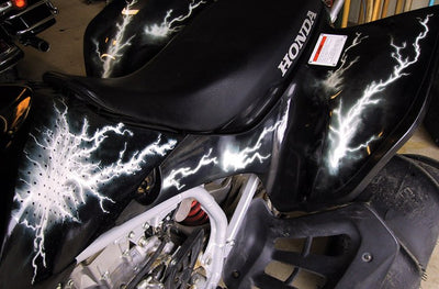 Ride the Lightning - Black Design