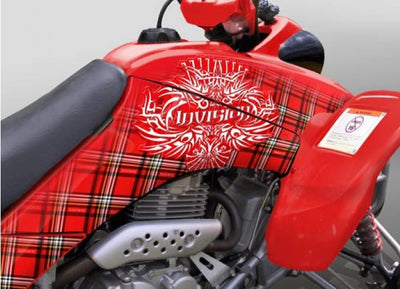Invision Plaid in Red