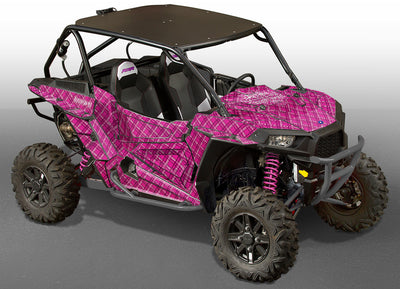 Invision Plaid - Pink Design