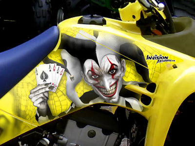 LTR450 Yellow Background Black /Wht Joker