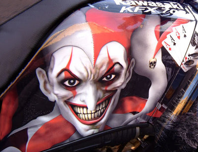 The Joker - KAWASAKI  ATV Graphics Kit (Close-Out Item)