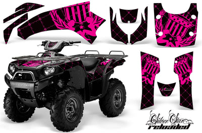 Reloaded - Black Background Pink Design