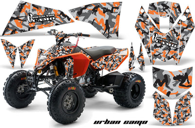 Urban Camo Girls - Orange Design