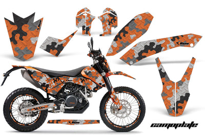 KTM Adventurer 690 Graphics (2008-2015) - Supermoto/Enduro