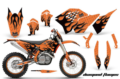 KTM XC 125-525 Graphics (2008-2010) - Kit C5
