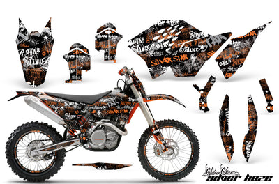 KTM SXF 125-525 Graphics (2007-2010) - Kit C5