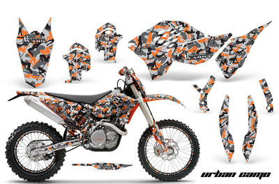 Urban Girl Camo - Orange Design
