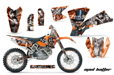 KTM EXC Graphics (2003-2004) - Kit C1