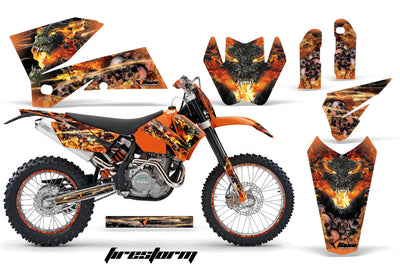 KTM SX Graphics (2005-2006) - Kit C4