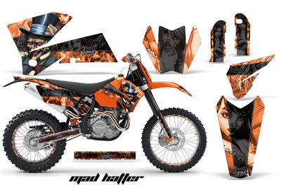 KTM EXC Graphics (2005-2007) - Kit C4