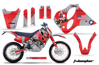 KTM SX, XC, LC4 Graphics (1993-1997) 4-Stroke - Kit C0