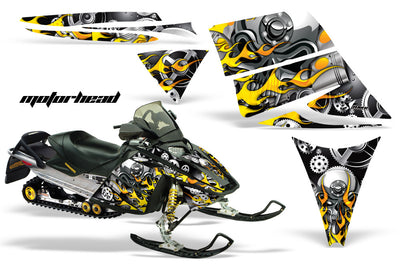 Ski Doo Rev '03-'09 Motorhead Black Background