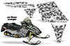 Ski Doo Rev '03-'09 Urban Camo Girl in White Design