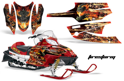 Arctic Cat Firecat Sabercat Sled Snowmobile Wrap Graphic Kit