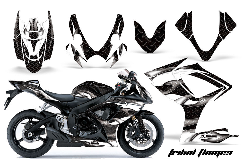 Suzuki Sport Bike Graphics Gsxr 600 750 06 07 Invision Atv