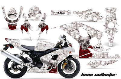 Suzuki GSXR 600/750 '04-'05 Bone Collector in White Background