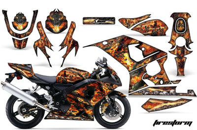 Firestorm in Black Design