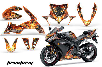 Yamaha R1 '04-'05 Firestorm in Black