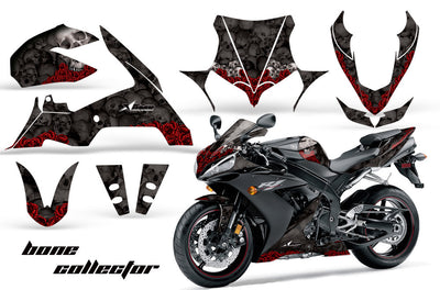 Yamaha R1 '04-'05 Bone Collector in Black