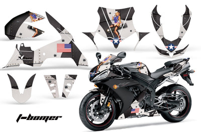 Yamaha R1 '04-'05 T-Bomber in Black Design