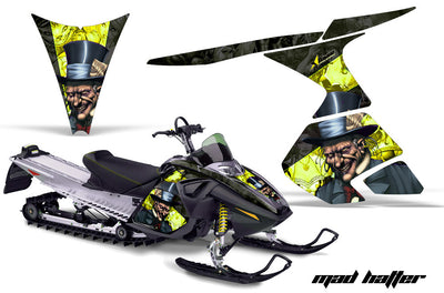 Ski Doo RT Sled Snowmobile Graphic Wrap Kit (2005-2009)