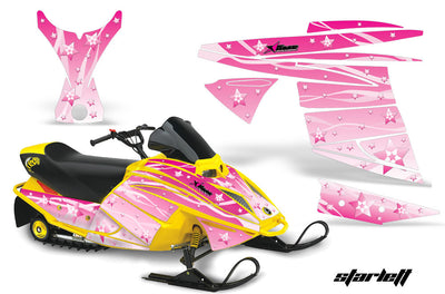 Ski Doo Mini Z Sled '03-'08 Starlett in Pink Design