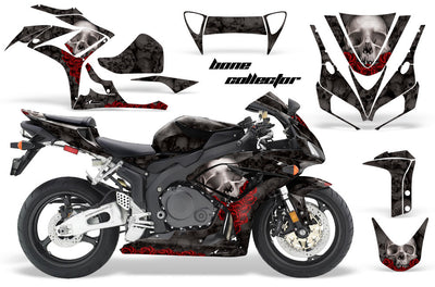 Honda CBR1000RR '06-'07 Bone Collector in Black Background