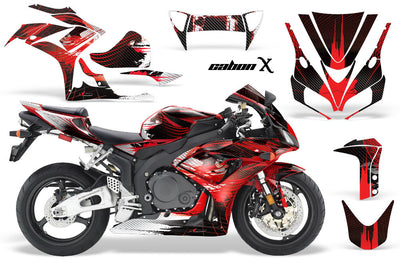 Honda CBR1000RR '06-'07 Carbon X in Red Design